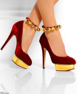 Dreamy Velvet Heels