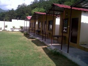 Camping at rishikesh