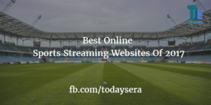 Online sports streaming websites