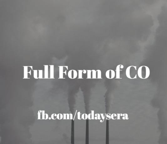 CO full form