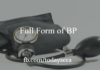 Full Form of BP And How To Measure BP