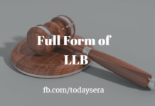 Full Form of LLB