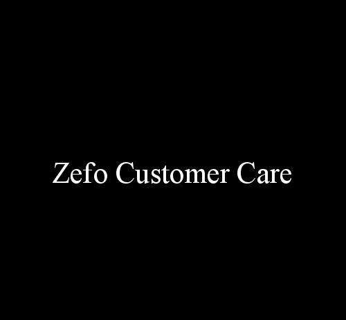 zefo customer care number