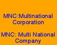 mnc full form