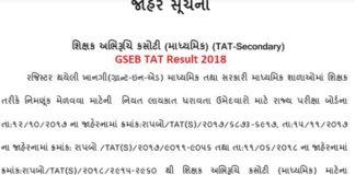 Maru-Gujarat-TAT-Result-2018
