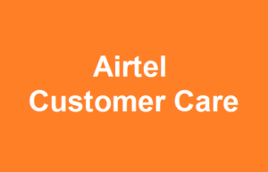 Airtel Customer Care support
