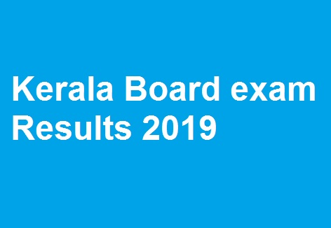 Kerala Board exam Results 2019