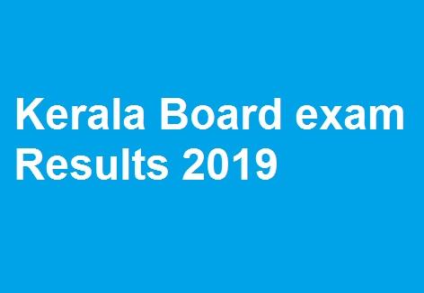 Kerala Board exam Results 2019