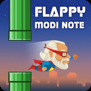 Super flappy Modi note game