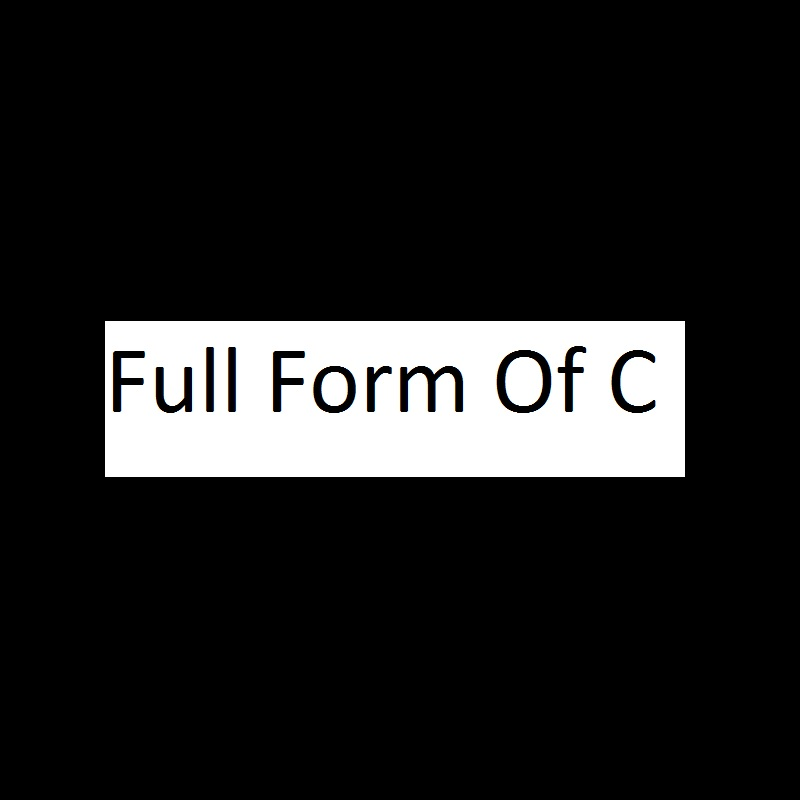 Full form of C